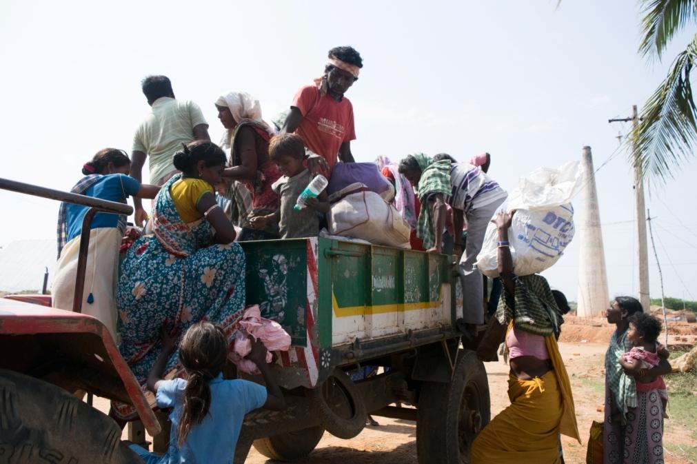 labourers human trafficking