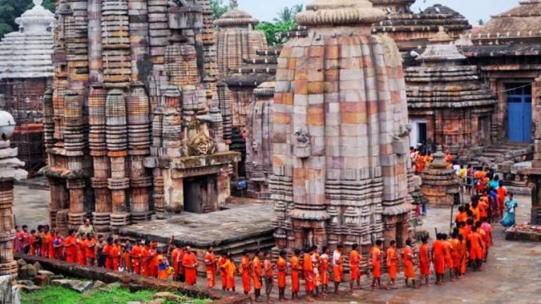 lingaraj temple-bol bam