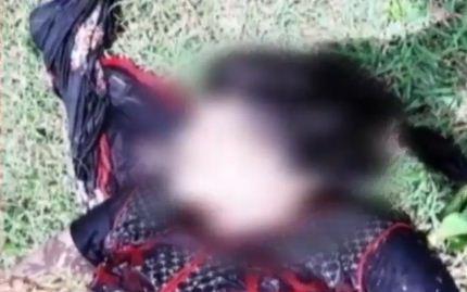 woman's dead body