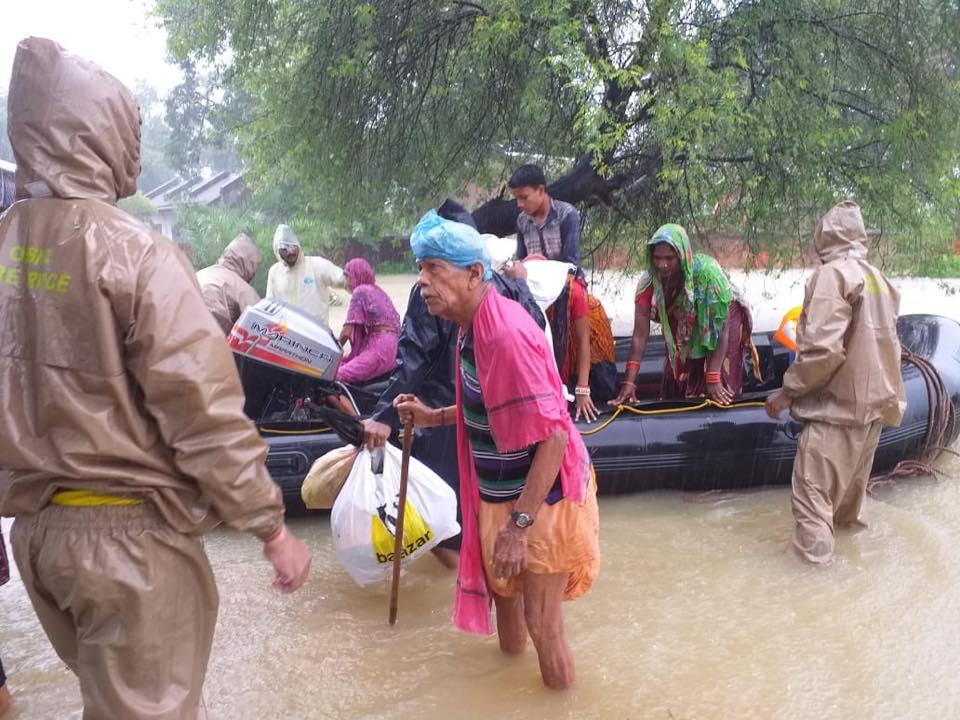 flood in odisha