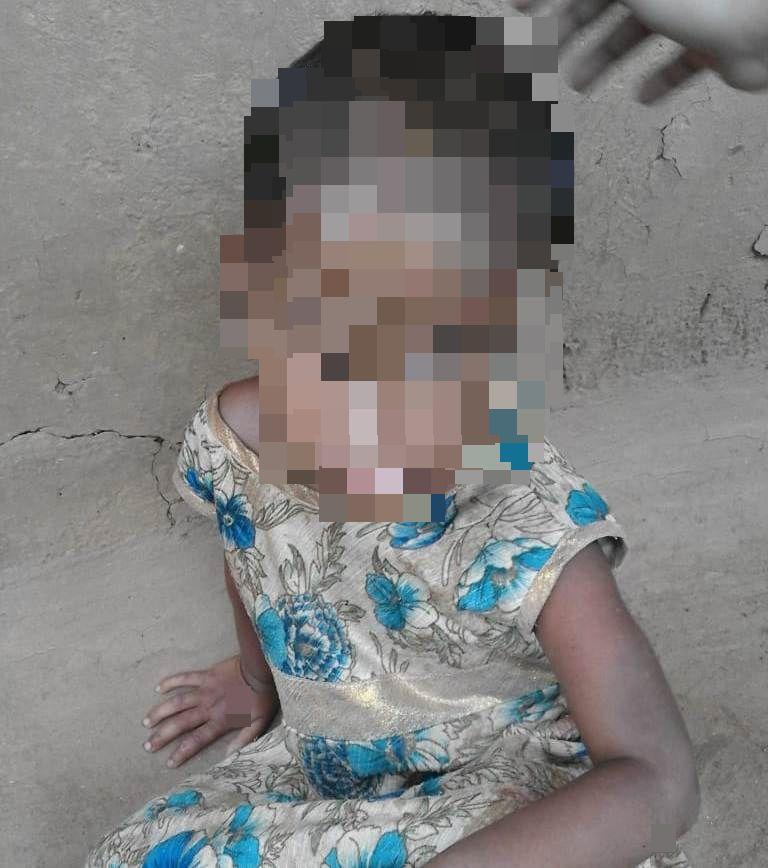 minor girl thrashed