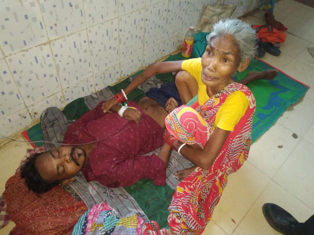 patient injured