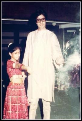Amitabh and shweta