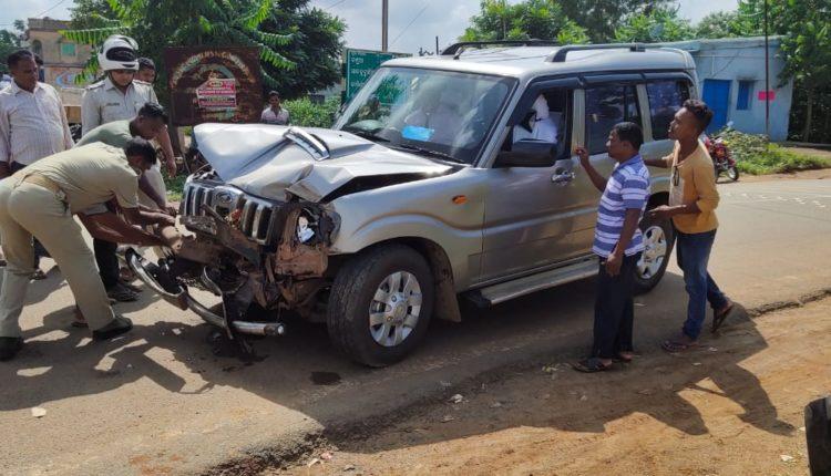 Keonjhar SP accident