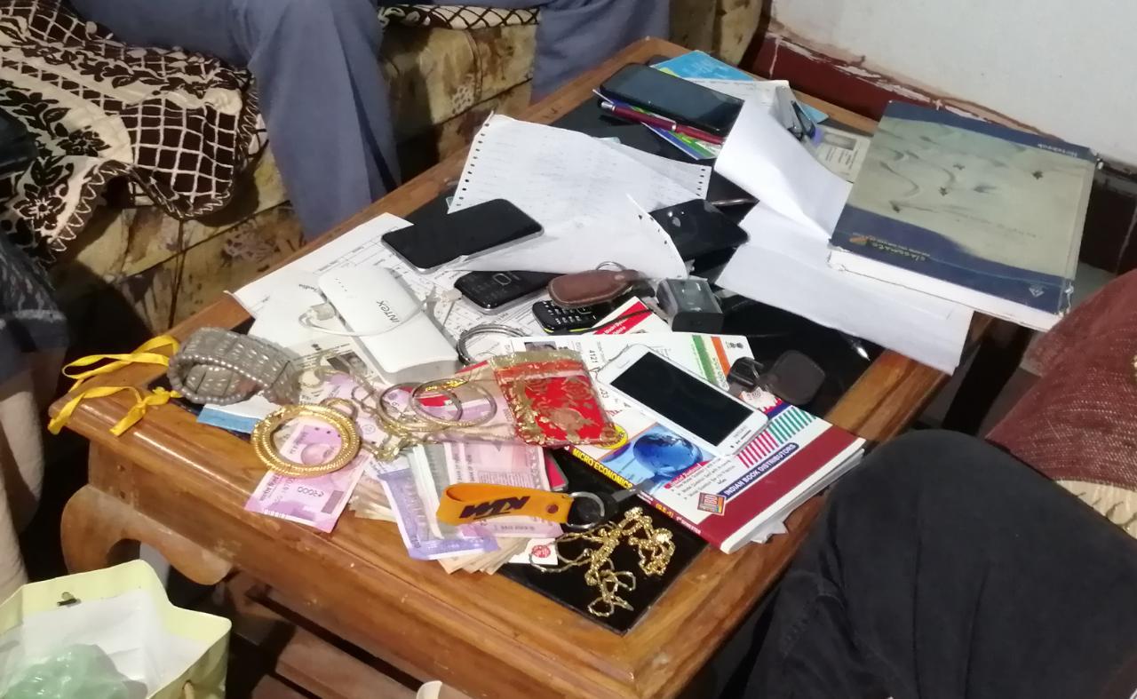 vigilance raid teachers house