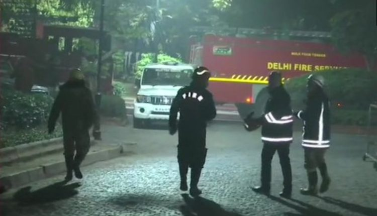 fire at PM's residence