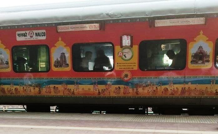 odisha culture on train