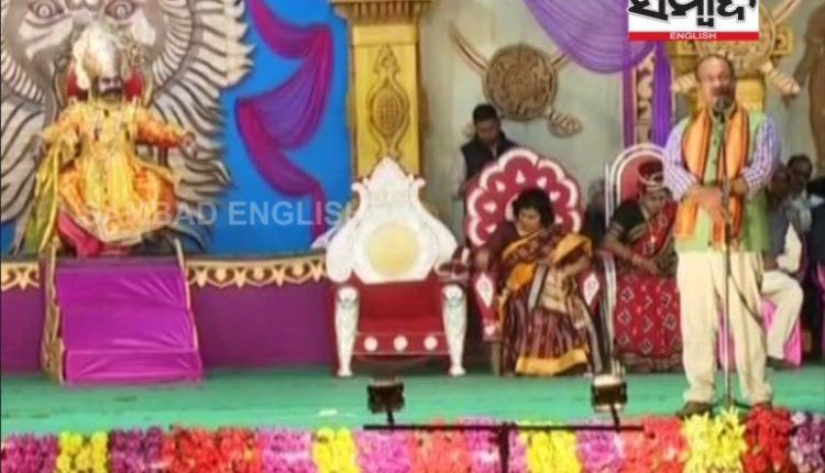 Culture Minister_dhanu yatra
