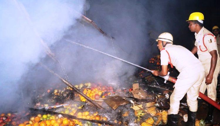 Fire in Kalpana