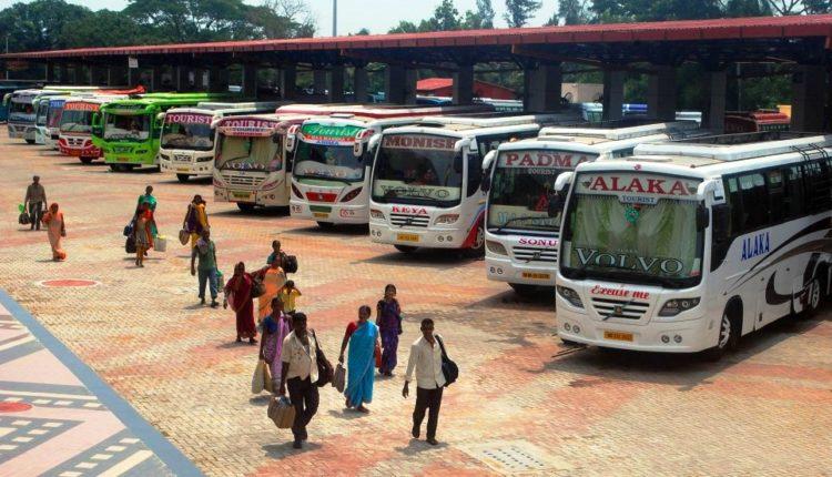 buses to puri