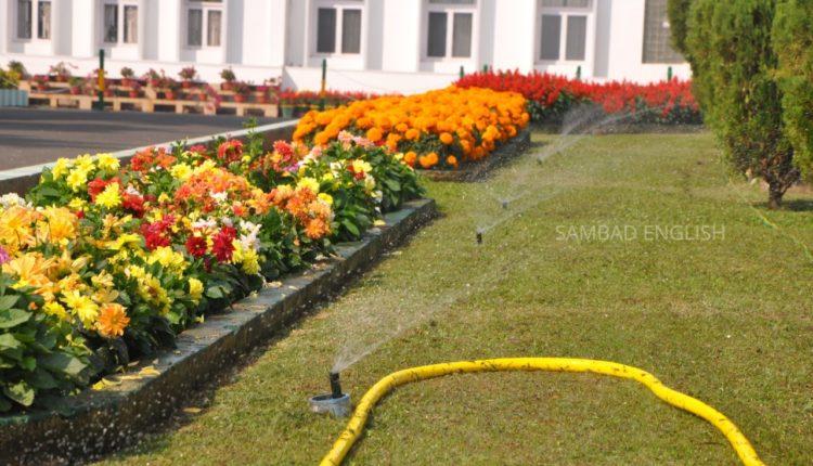 raj bhavan garden