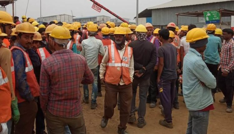 ramco cements protest