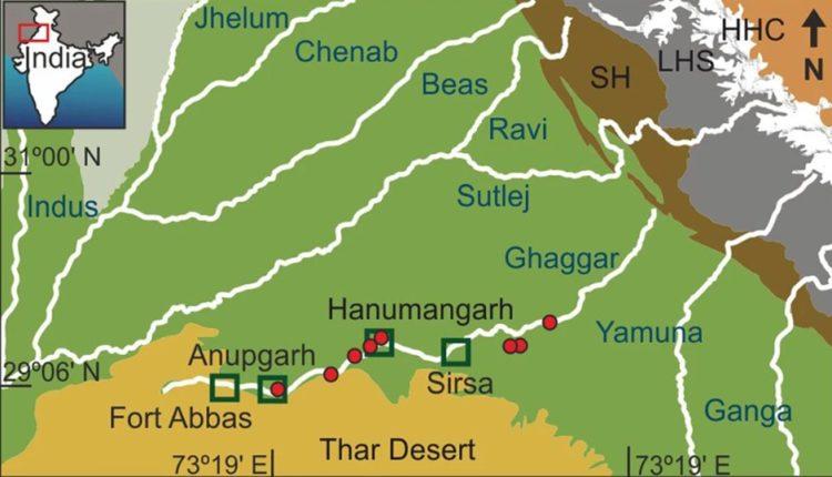 saraswati river existence
