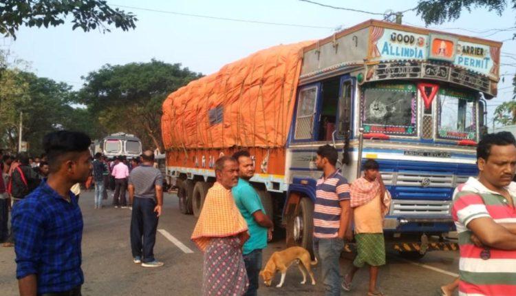 truck kills student