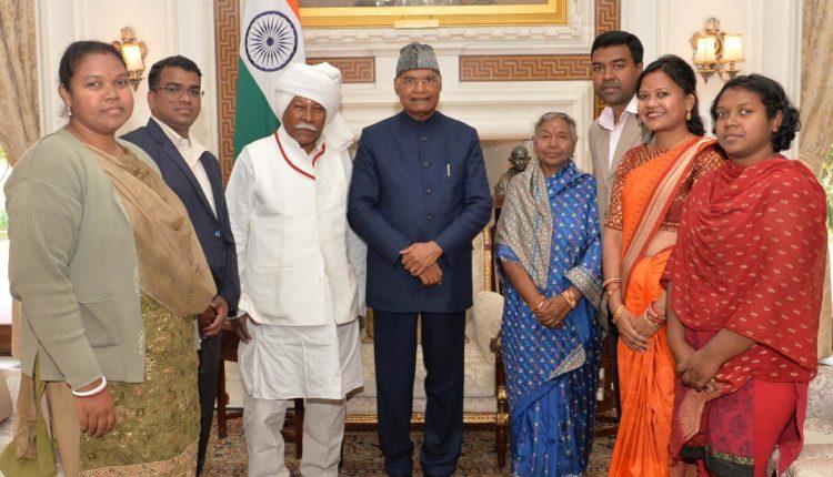 Bir bhadra with President