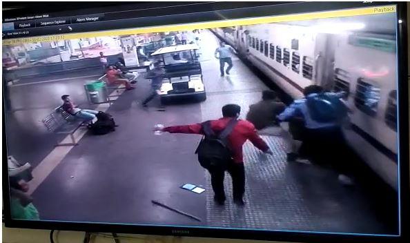 CCTV capture_railway station
