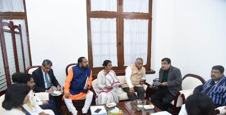 MPs meet Union MInister