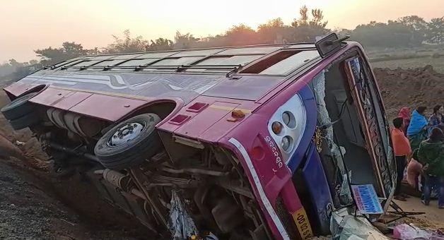 bhadrak bus accident