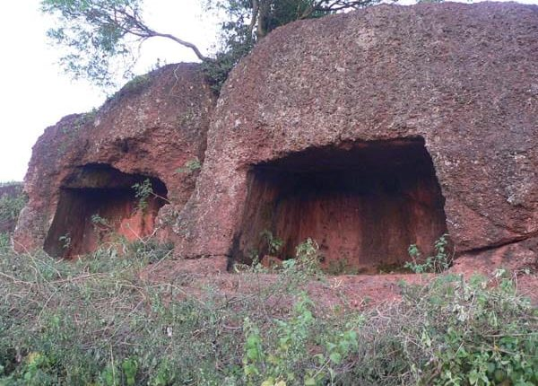 buddhist cave choudwar