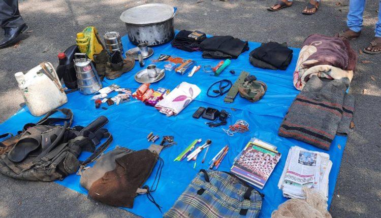 maoist item seized
