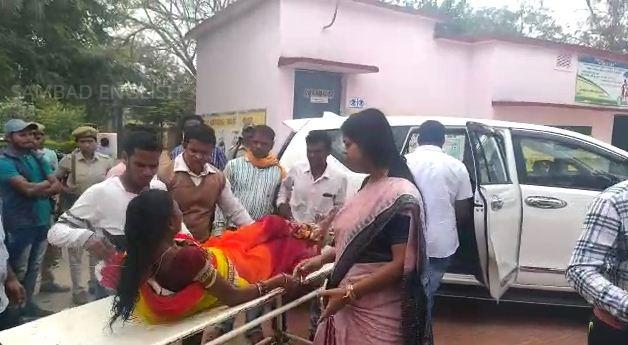 odisha minister saves victim