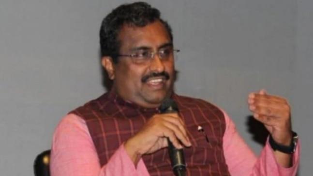 senior BJP leader Ram Madhav