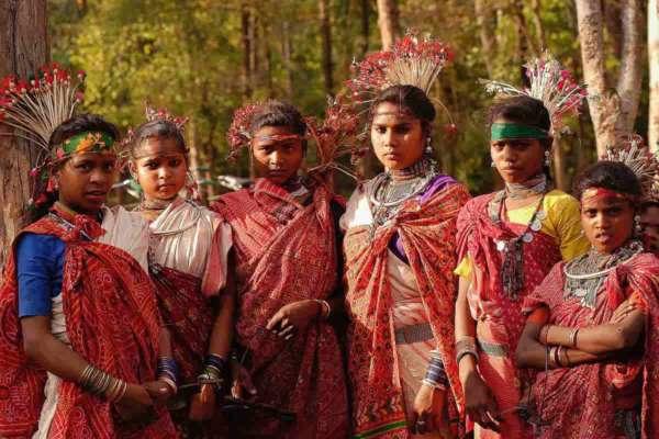 tribal families sonbhadra