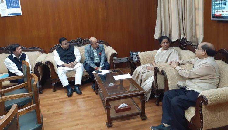 MPs meet Nirmala