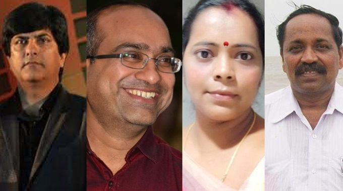 Rajya Sabha candidates