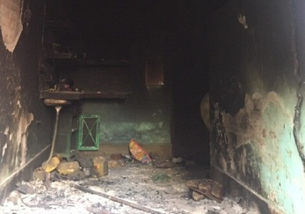 house torched