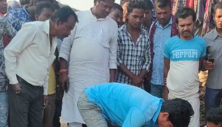 ramesh majhi_acicdent victim