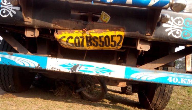 truck seized