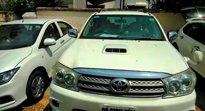 Car seized