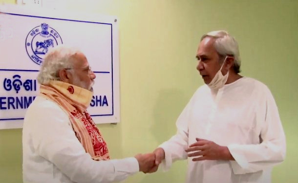 Naveen Modi Amphan meeting