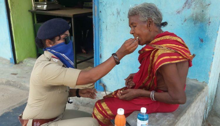 Superstar Chiranjeevi hails Odisha woman cop