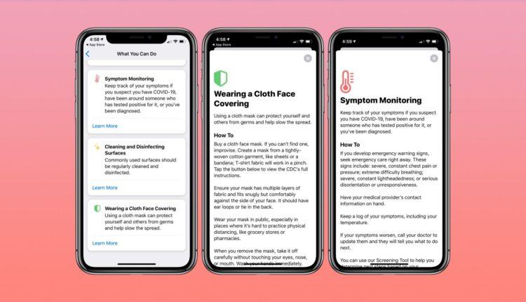 apple-covid-19-screening-app