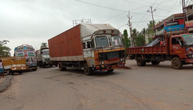 bhadrak road block