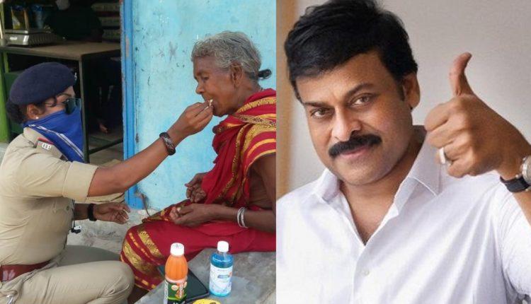 chiranjeevi hails odisha woman cop