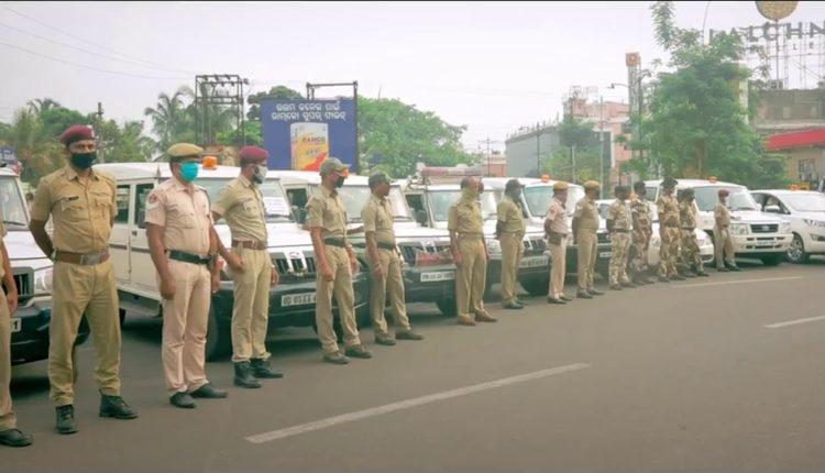 police on COVID-19 duty