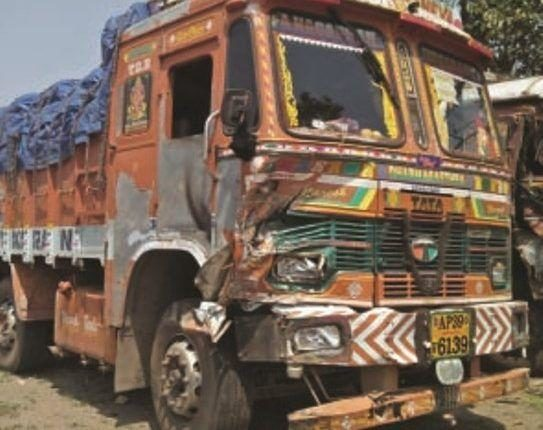 truck mishap