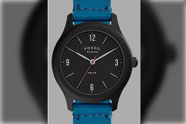 Fossil-solar-watch