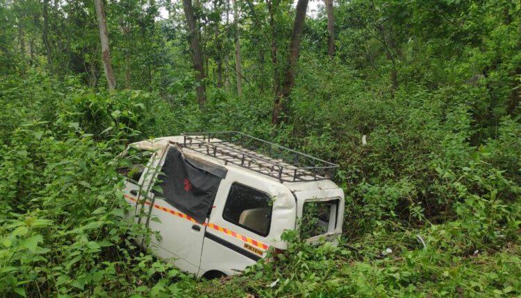 covid van accident