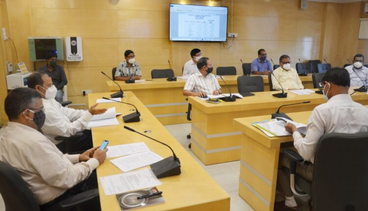 development commissioner_review meeting