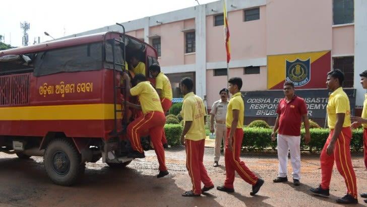 odisha fire service