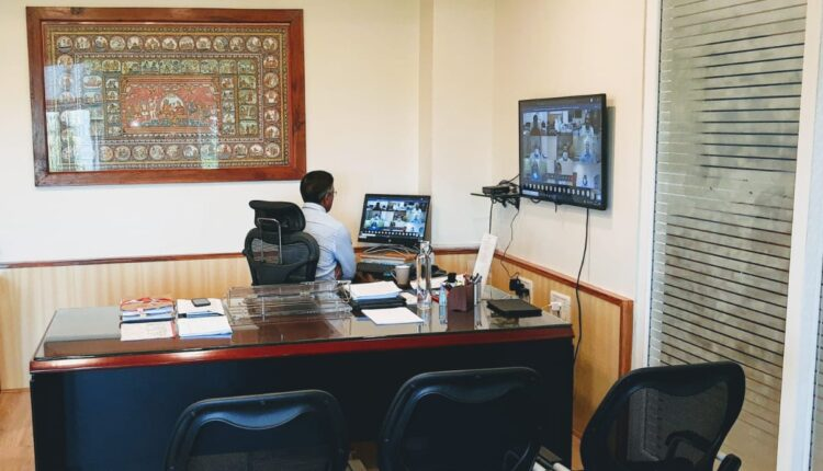 Asit Tripathy video conferencing