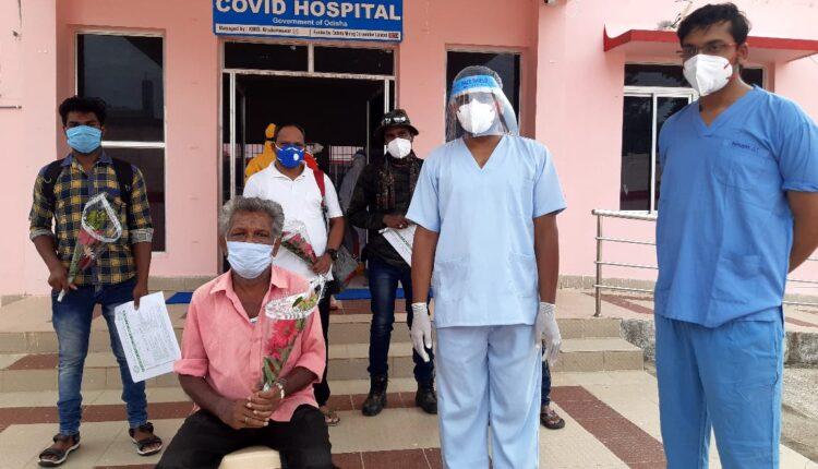 Phulbani COVID-19 patient