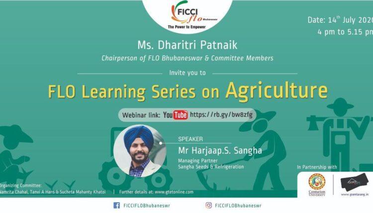 Webinar on agriculture