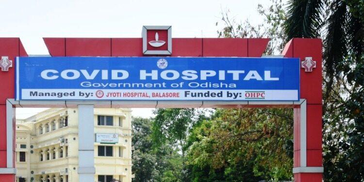 balasore covid hospital