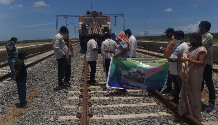 kendrapara train oppose