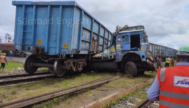 train truck accident